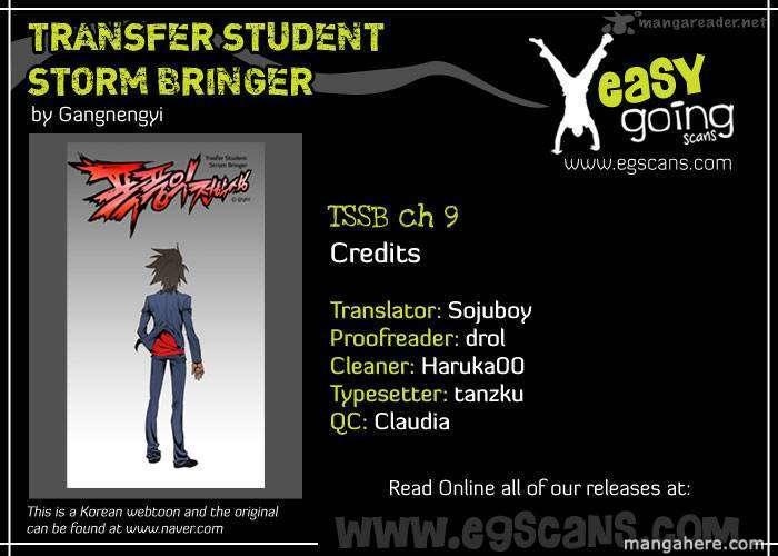 Transfer Student Storm Bringer 9 Page 1