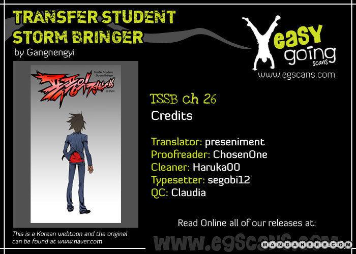 Transfer Student Storm Bringer 26 Page 1