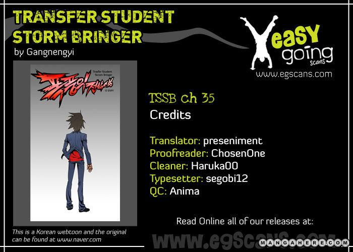 Transfer Student Storm Bringer 35 Page 1
