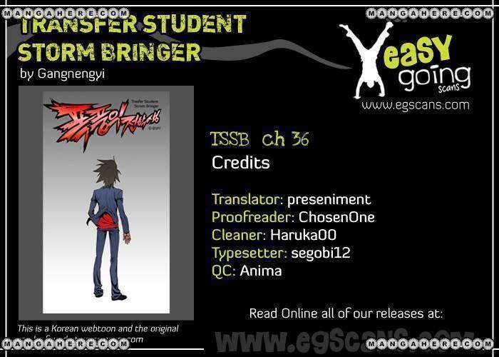 Transfer Student Storm Bringer 36 Page 1