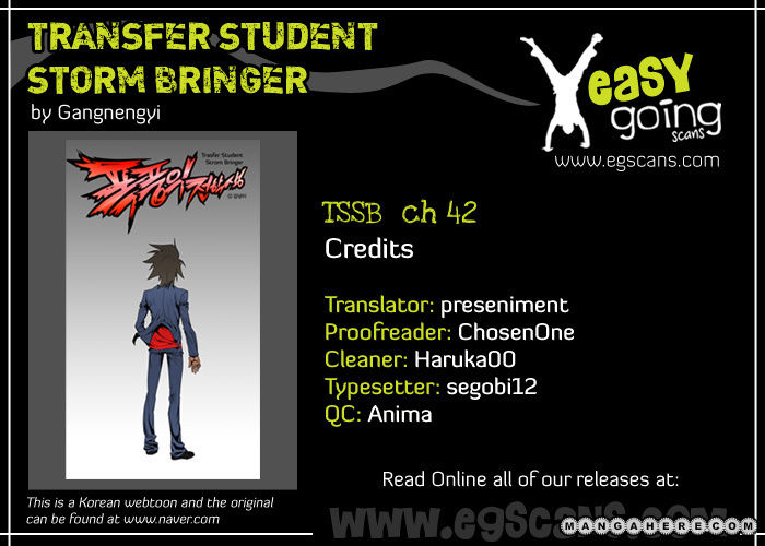 Transfer Student Storm Bringer 42 Page 1