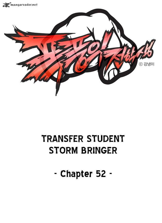 Transfer Student Storm Bringer 52 Page 1