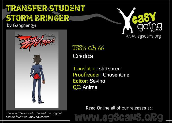 Transfer Student Storm Bringer 66 Page 1