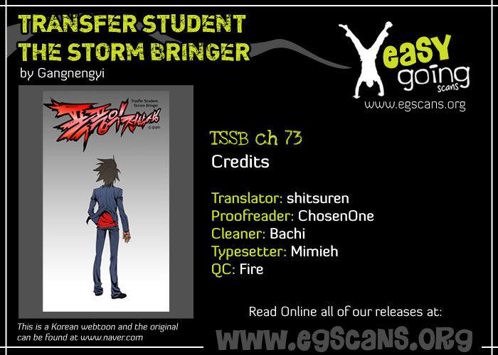 Transfer Student Storm Bringer 73 Page 1
