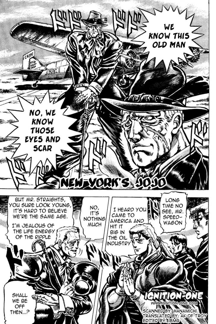 JoJo's Bizarre Adventure 45 Page 1