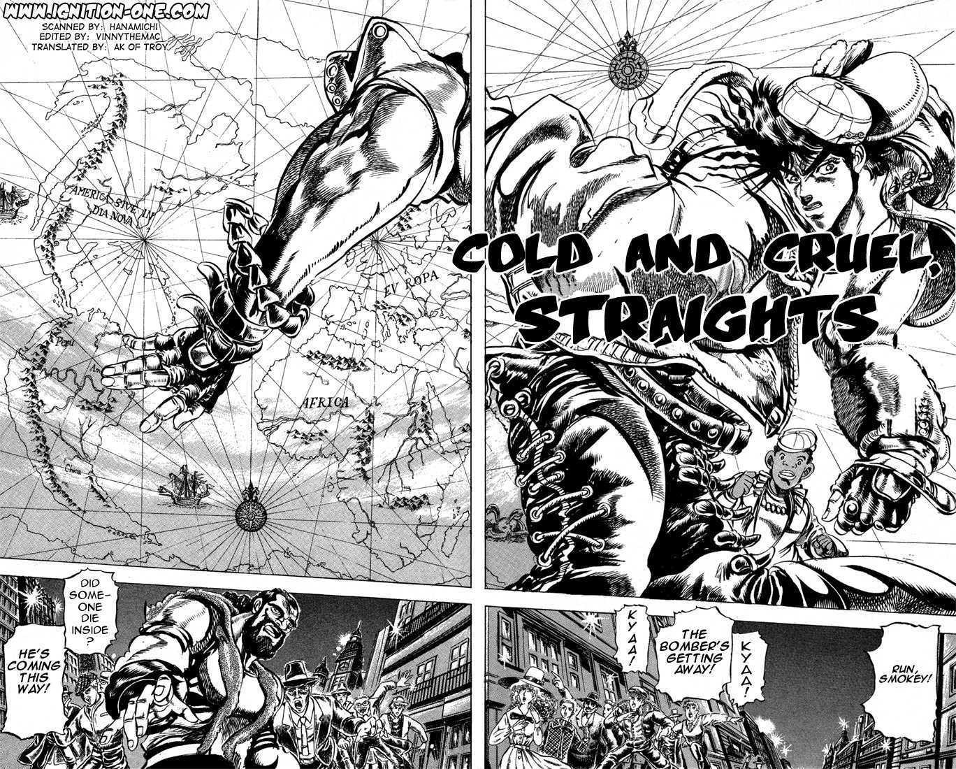 JoJo's Bizarre Adventure 51 Page 1