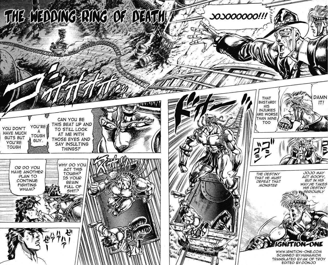 JoJo's Bizarre Adventure 70 Page 1