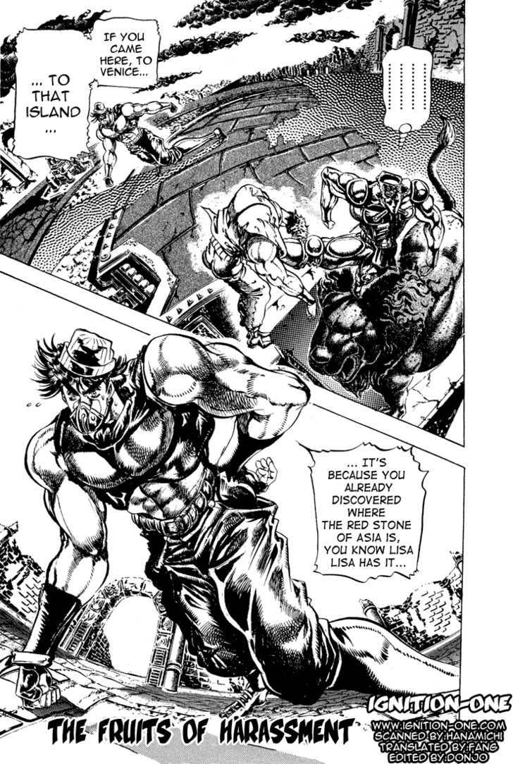 JoJo's Bizarre Adventure 77 Page 1