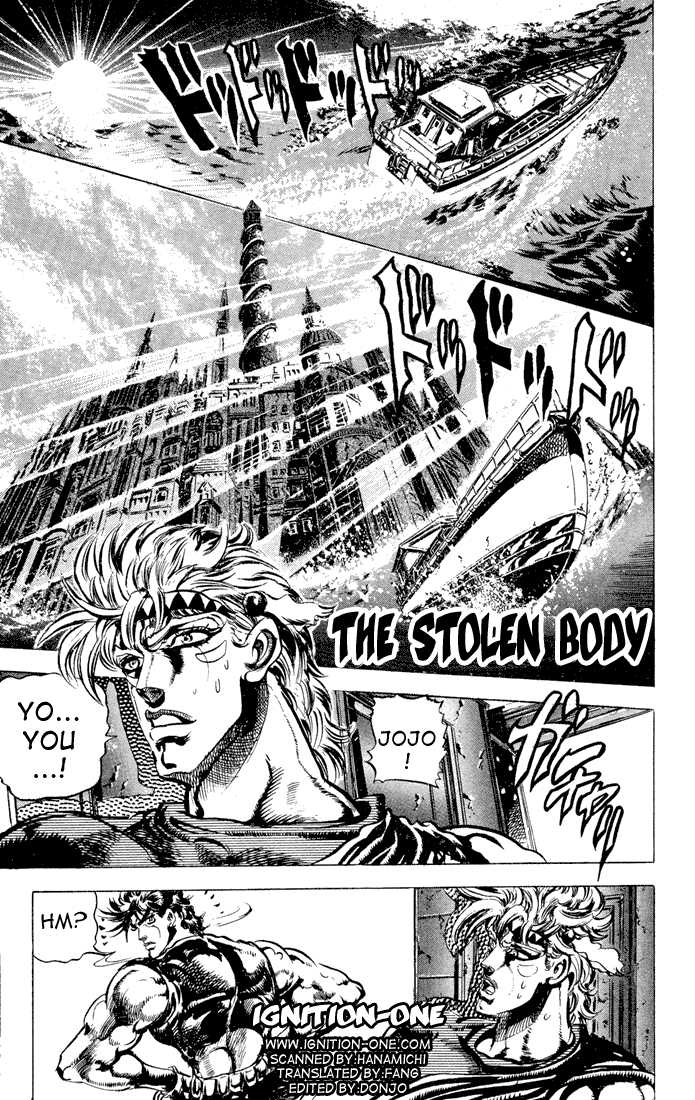 JoJo's Bizarre Adventure 82 Page 1