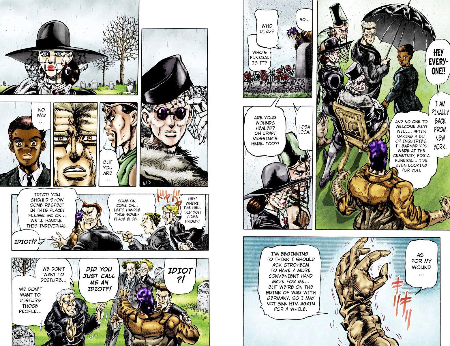 JoJo's Bizarre Adventure 113 Page 5