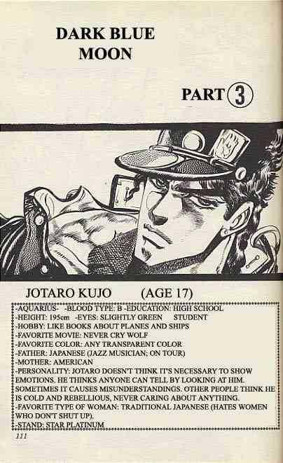 JoJo's Bizarre Adventure 129 Page 1
