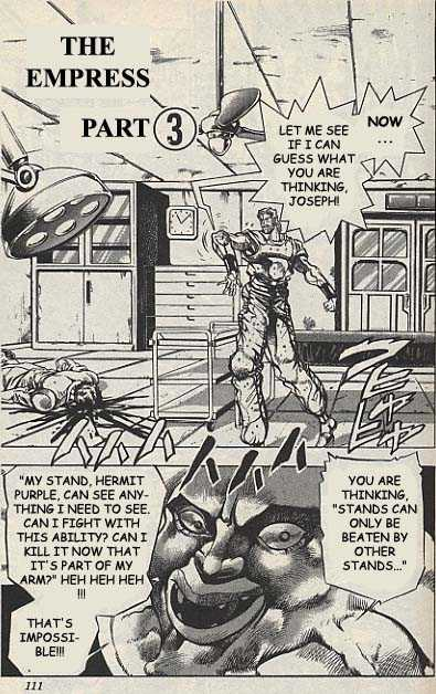 JoJo's Bizarre Adventure 148 Page 1