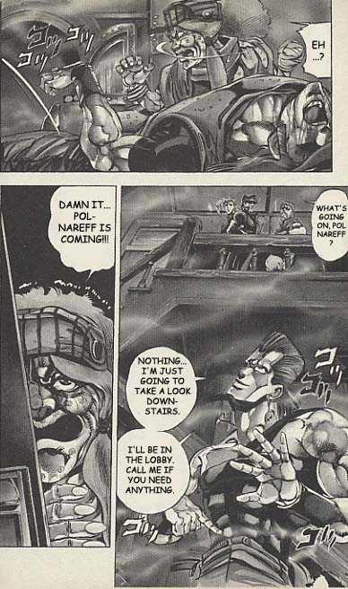 JoJo's Bizarre Adventure 157 Page 3