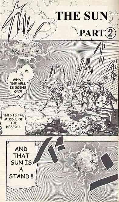 JoJo's Bizarre Adventure 167 Page 1