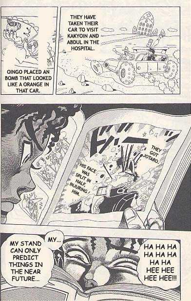 JoJo's Bizarre Adventure 191 Page 2