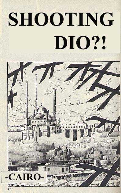JoJo's Bizarre Adventure 210 Page 1