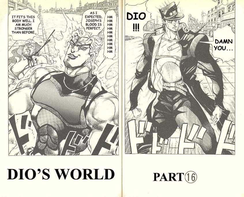 JoJo's Bizarre Adventure 262 Page 1