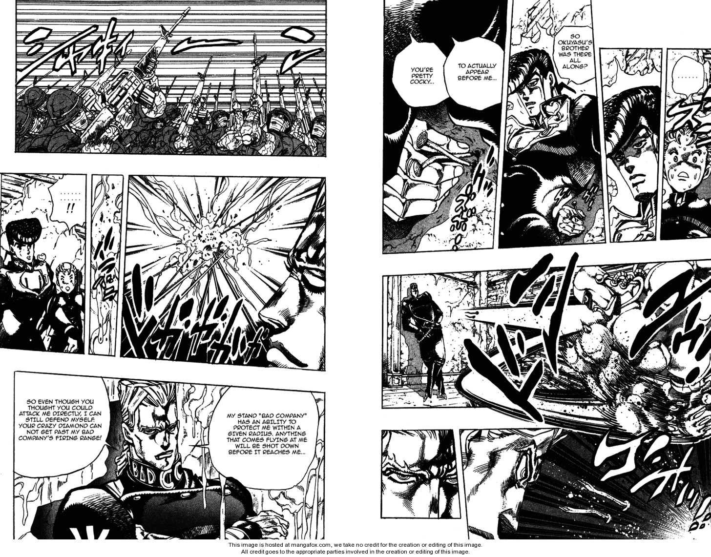 JoJo's Bizarre Adventure 279 Page 3