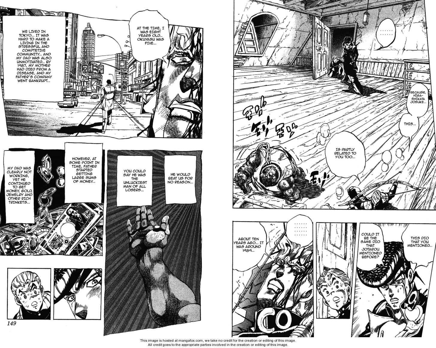 JoJo's Bizarre Adventure 282 Page 2