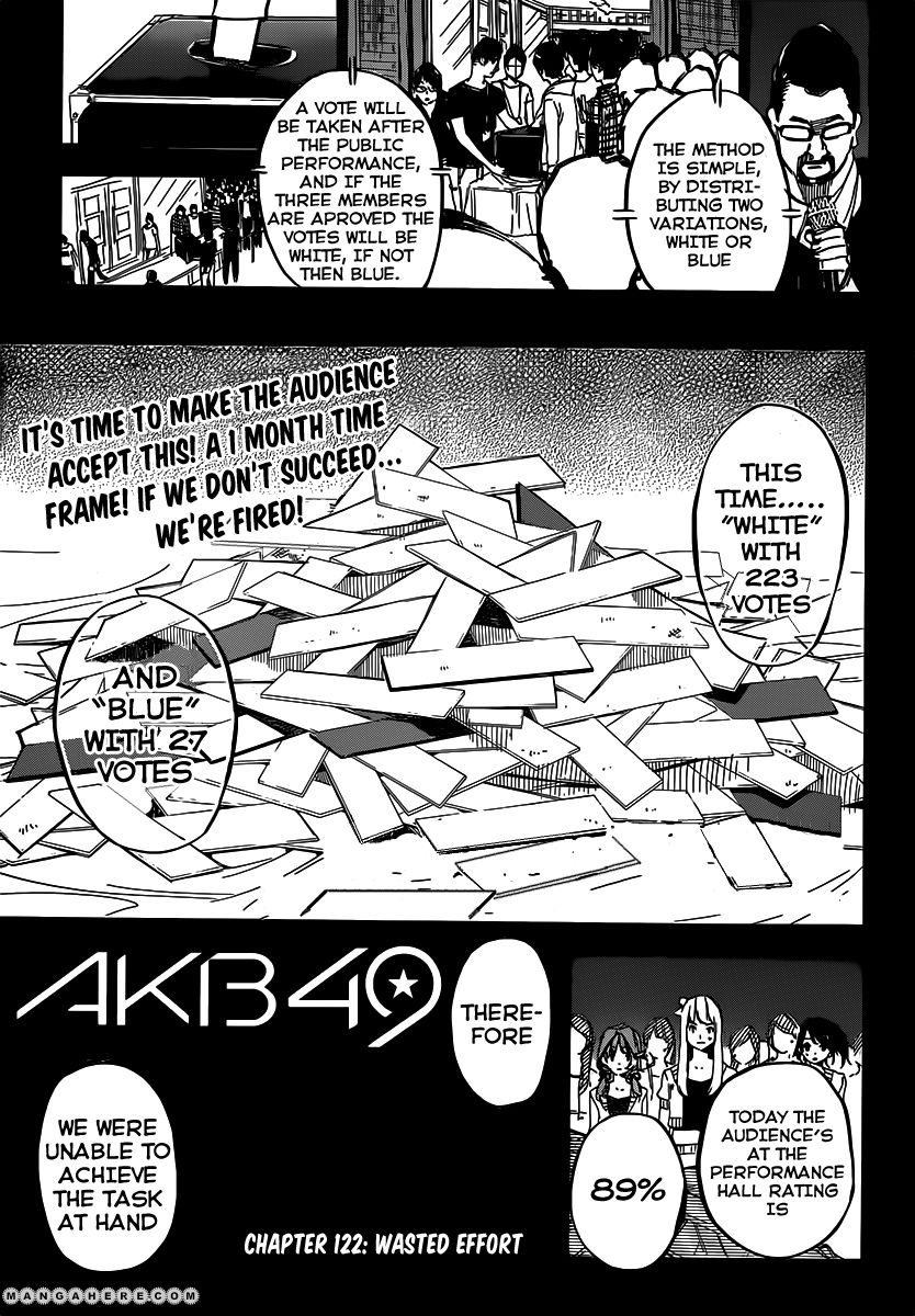 AKB49 Renai Kinshi Jourei 122 Page 2