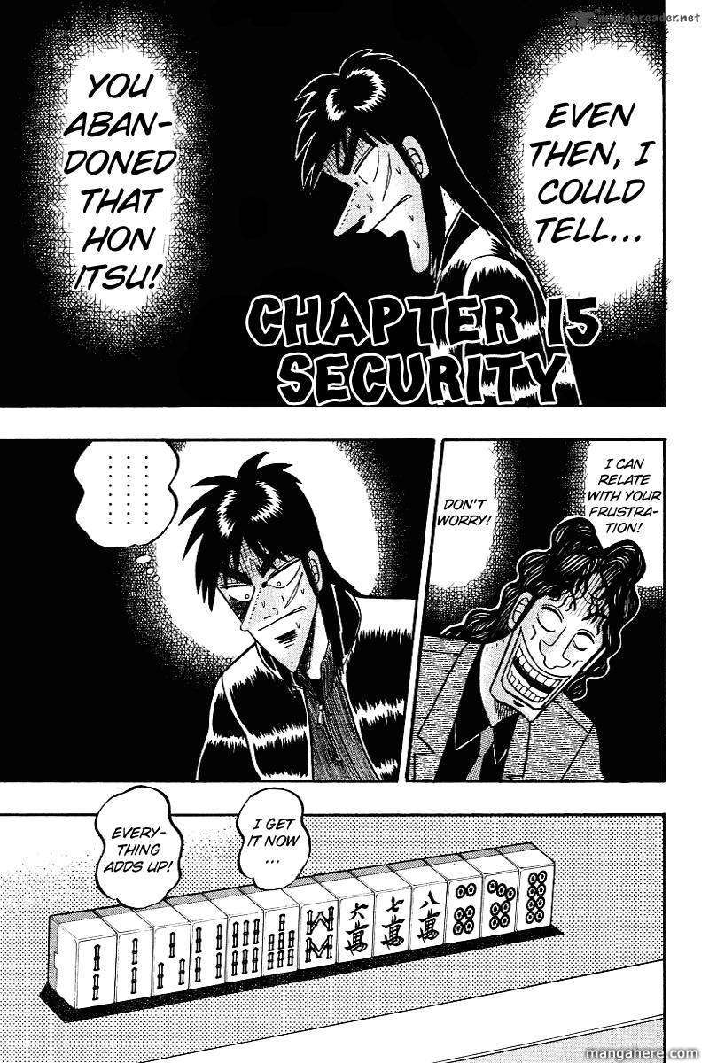 Tobaku Datenroku Kaiji 15 Page 1