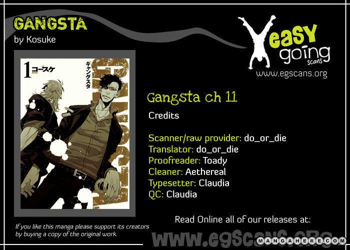 Gangsta 11 Page 1