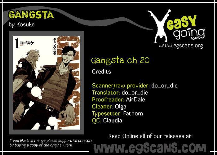 Gangsta 20 Page 1