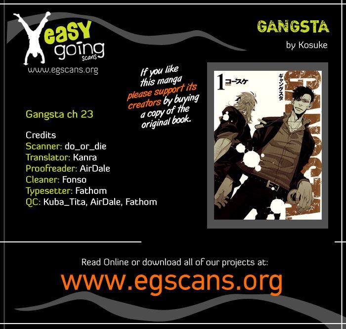 Gangsta 23 Page 1