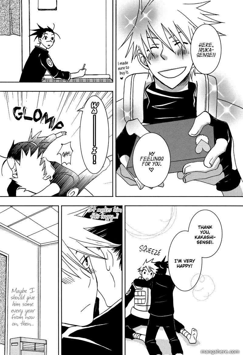 Naruto dj - Kakashi x Iruka 2 Page 3