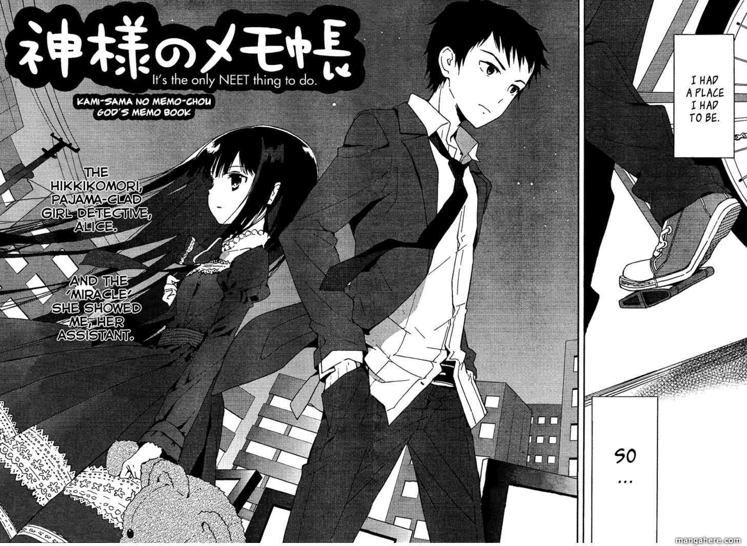 Kamisama no Memo-chou 1 Page 4