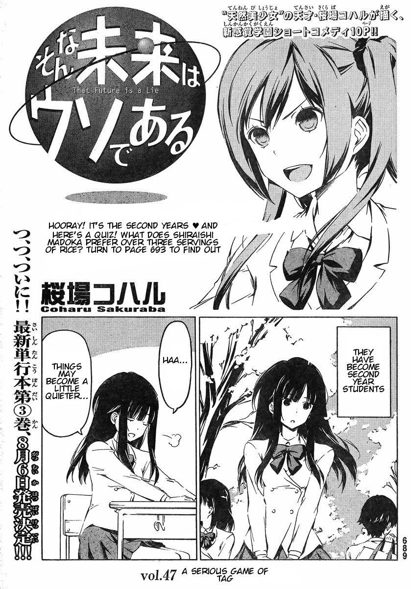 Sonna Mirai wa Uso de Aru 47 Page 1