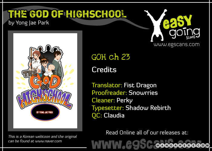 The God Of High School 23 Page 1
