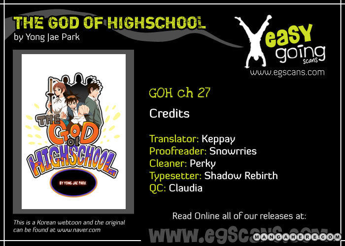The God Of High School 27 Page 1