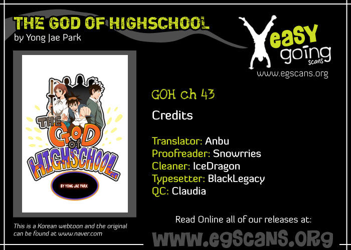 The God Of High School 43 Page 1