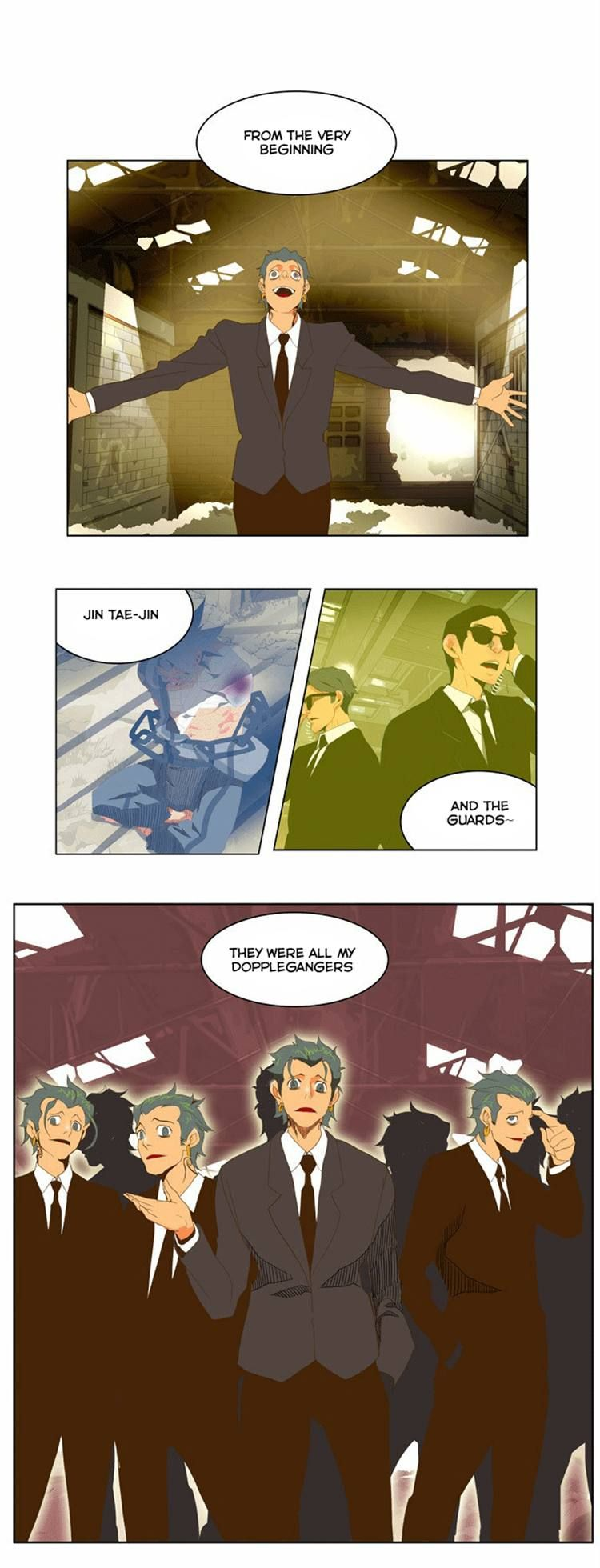 The God Of High School 63 Page 1