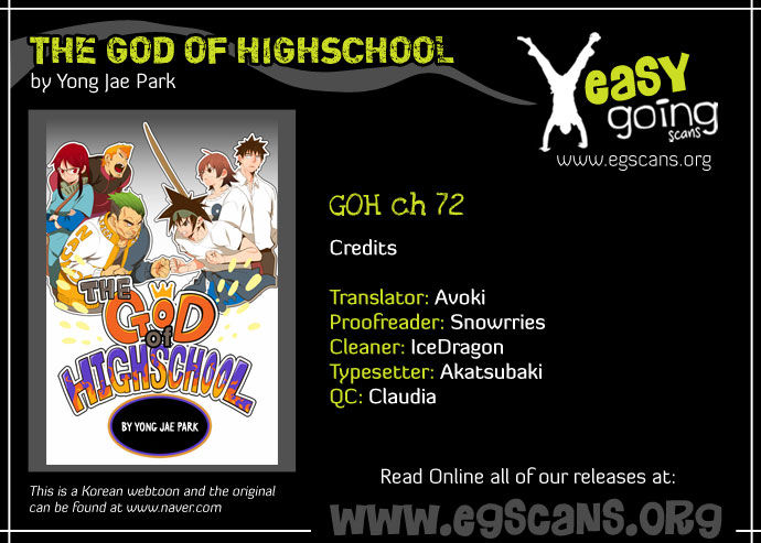 The God Of High School 72 Page 1
