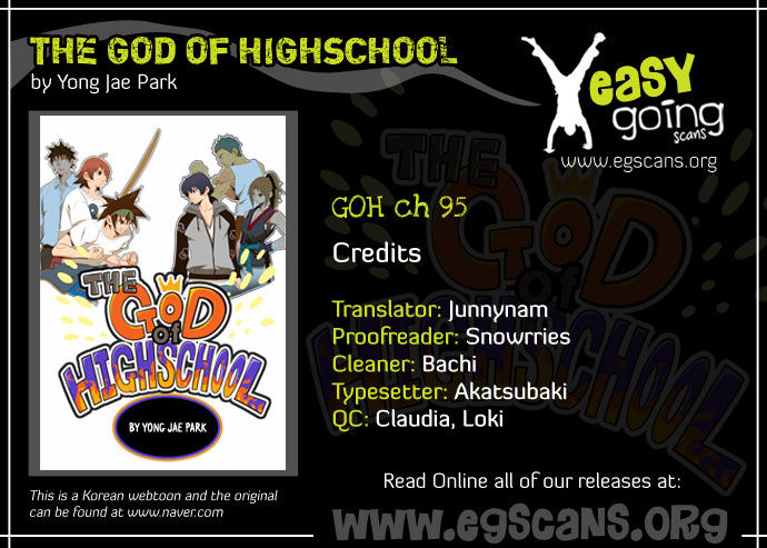 The God Of High School 95 Page 1
