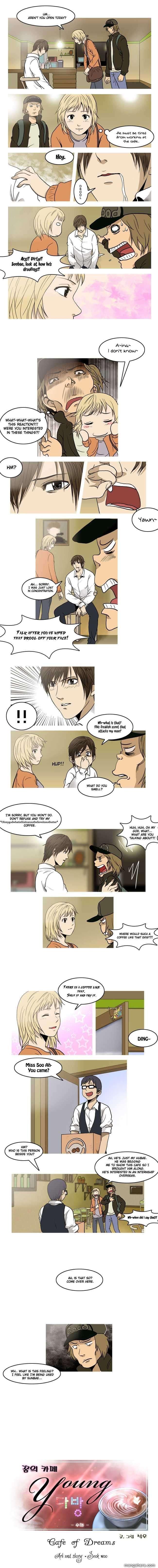 Cafe Of Dreams 4 Page 1