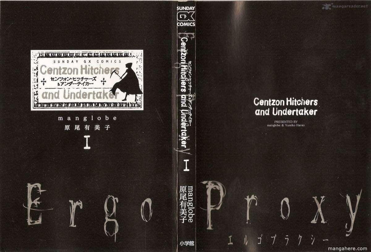 Ergo Proxy: Centzon Hitchers and Undertaker 1 Page 1