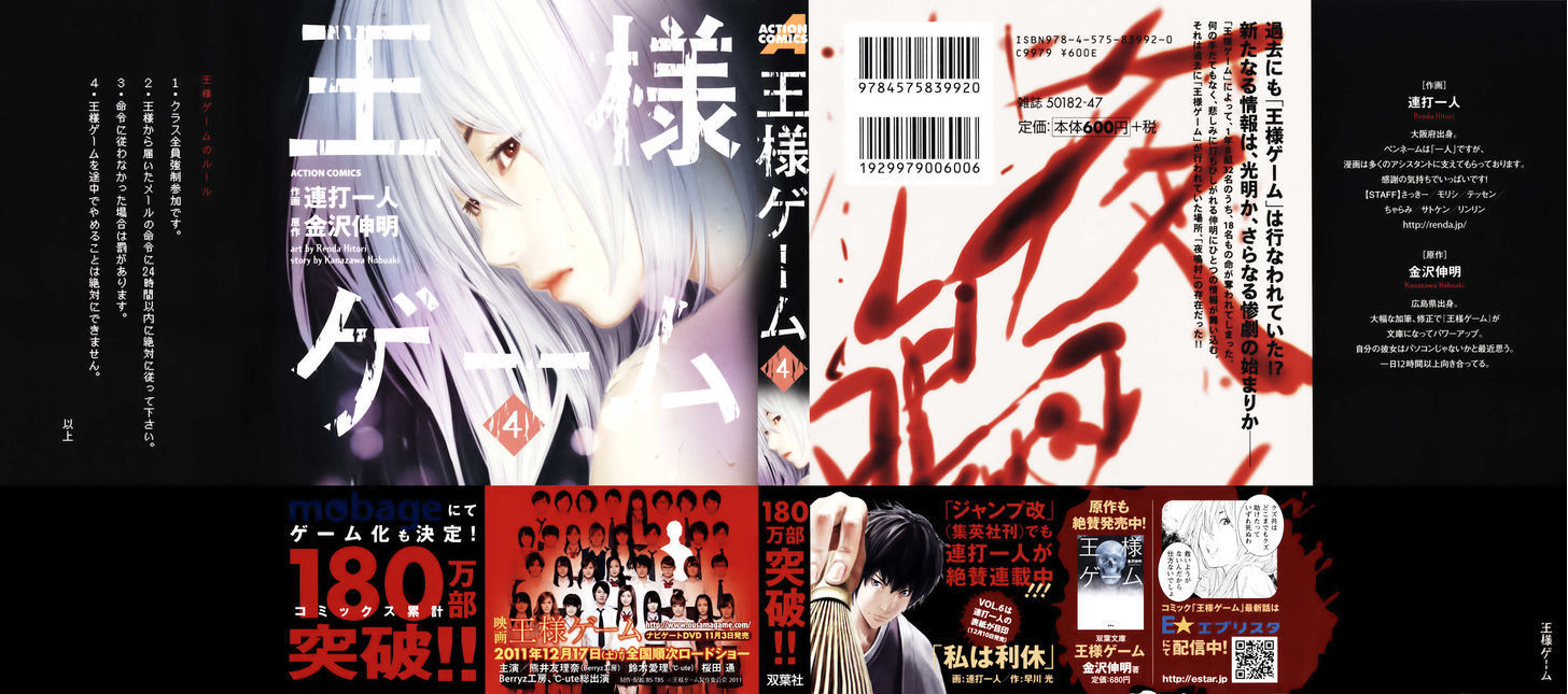 Ousama Game (Renda Hitori) 20 Page 2