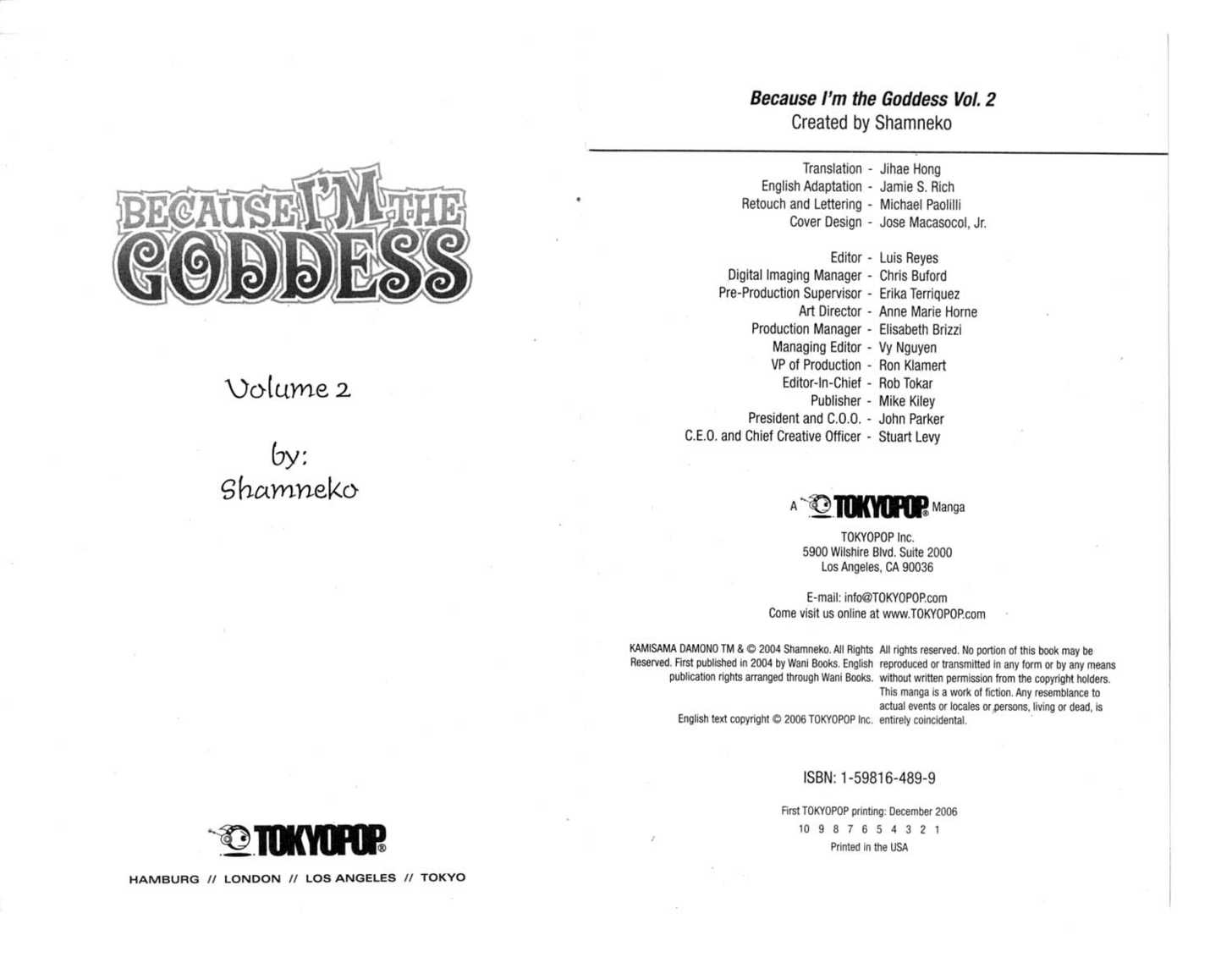 Because I'm The Goddess 0 Page 2