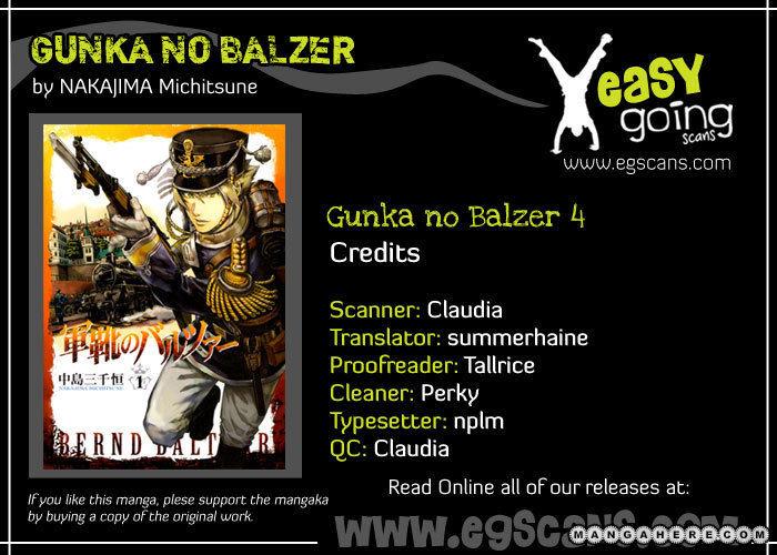 Gunka No Baltzar 4 Page 1