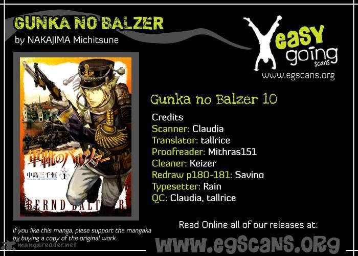 Gunka No Baltzar 10 Page 1