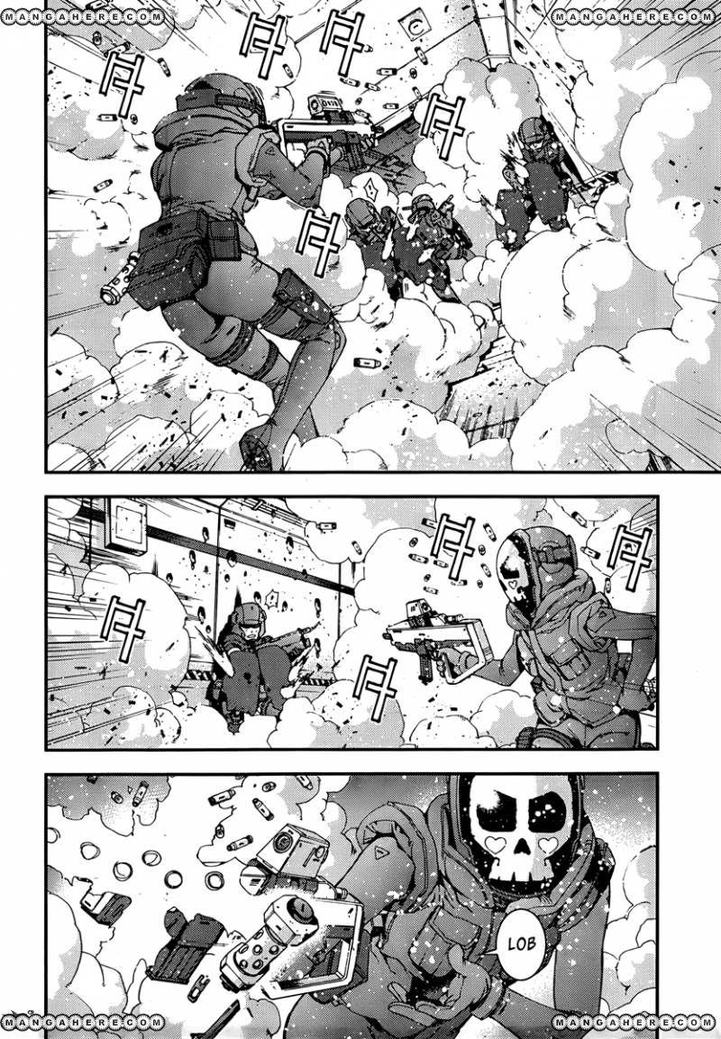 Aoki Hagane No Arpeggio 34 Page 3