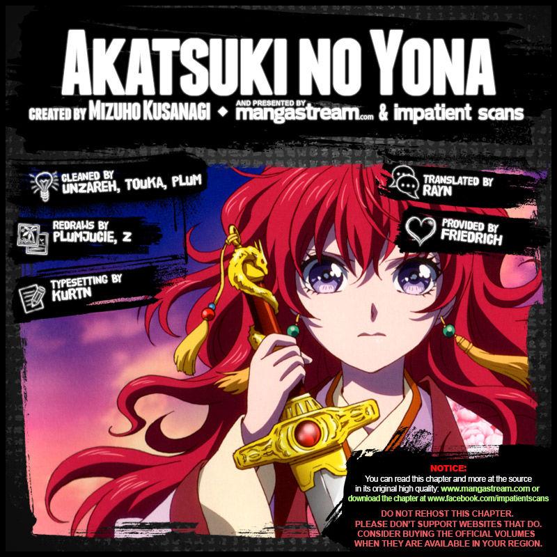 Akatsuki No Yona 138 Page 2