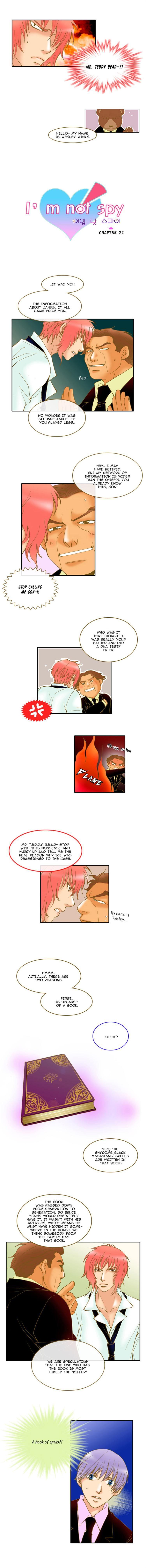 I'm not Spy 22 Page 1