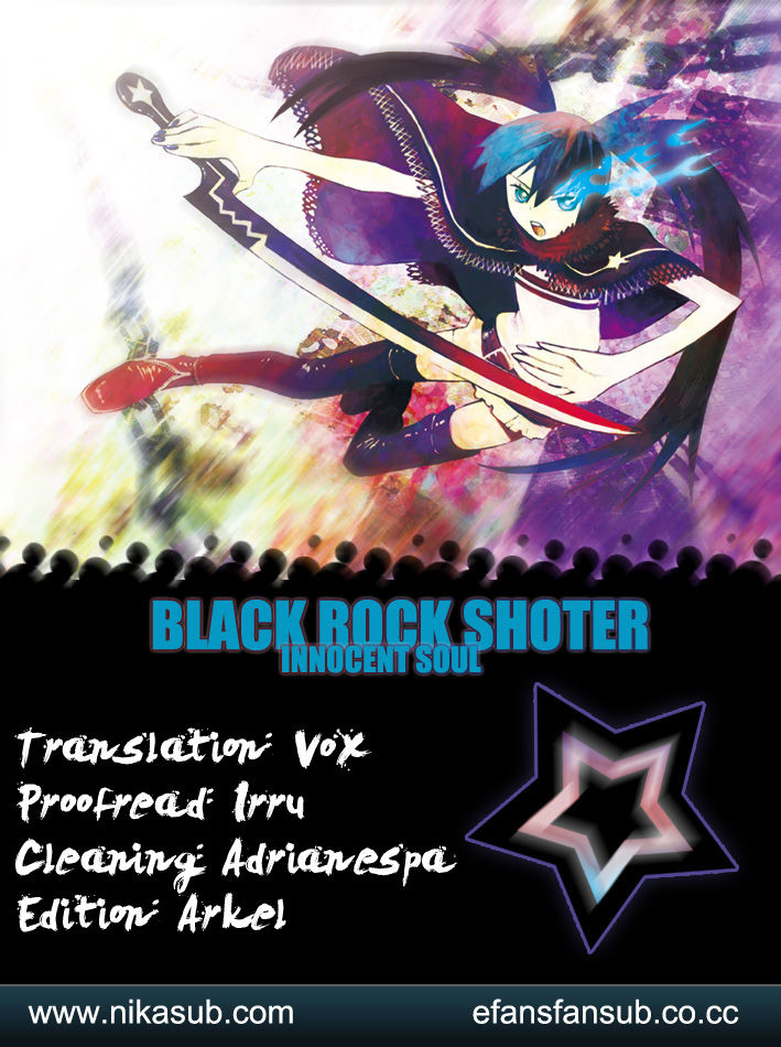 Black Rock Shooter - Innocent Soul 8 Page 1