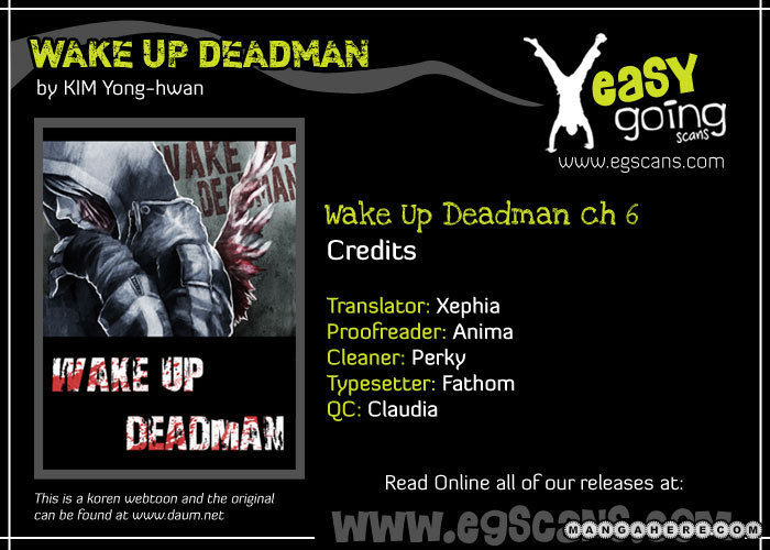 Wake Up Deadman 6 Page 1