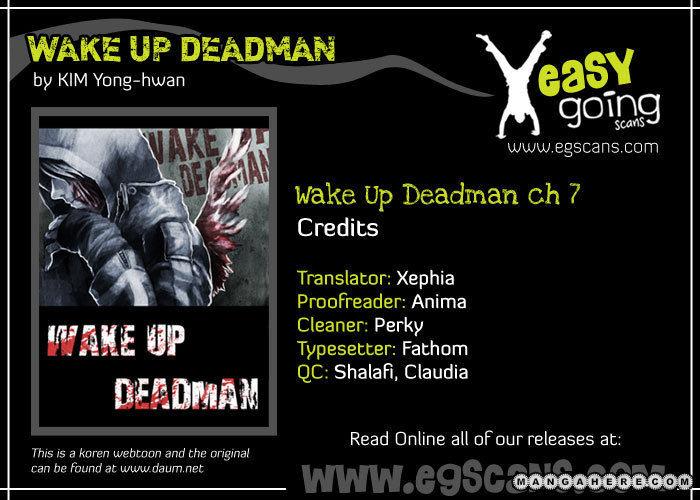 Wake Up Deadman 7 Page 1