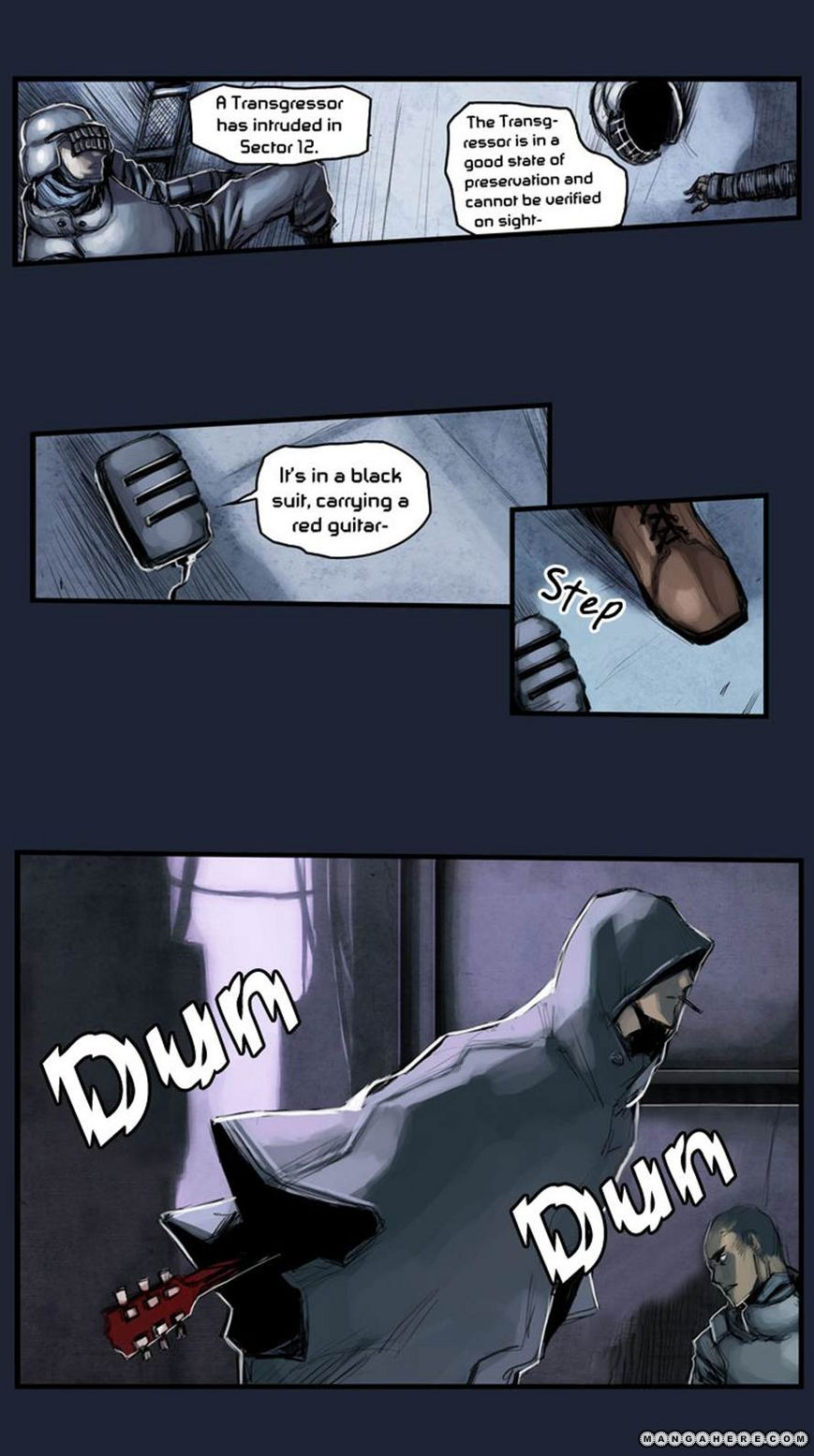 Wake Up Deadman 14 Page 1